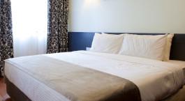 Bedroom at hotel Strawberry Park Resort, Cameron Highlands, Malaysia