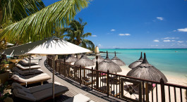 Ocean view at Hotel LUX* Grand Hotel in Mauritius