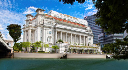 Enchanting Travels Singapore Tours Fullerton Hotel Singapore Facade