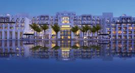 Exterior view of Eastern Mangroves Hotel & Spa by Anantara in Abu Dhabi