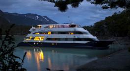 Außenansicht der Santa Cruz Cruise by Marpatag in El Calafate, Argentinien