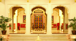 Lobby at Dev Niwas Bundi Hotel in Bundi, North India