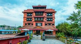 Außenansicht Hotel Heritage in Bhaktapur, Nepal