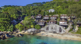 Exteriol view of Hilton Northolme Resort & Spa in Mahe, Seychelles
