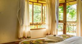 Enchanting Travels Uganda Tours Bwindi Hotels Ichumbi Gorilla Lodge Room view