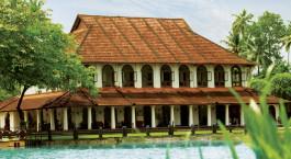 Enchanting-Travels-India-Tours-Kerala-Hotels-Taj-Kumarakom-Resort-&-Spa-Facade
