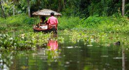 Der Höhepunkt schlechthin auf Ihrer Südindien Rundreise: Die Backwaters von Kerala