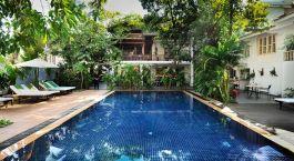 Enchanting Travels - Kambodscha Resien -Phnom Penh -  Villa Langka - Pool