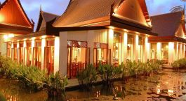 Exterior view at Sukhothai Hotel in Bangkok, Thailand