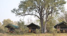 Exterior view at Sango Safari Camp in Okavango Delta, Botswana
