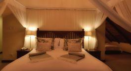 Schlafzimmer im Ilala Lodge Hotel, Victoria Falls, Simbabwe