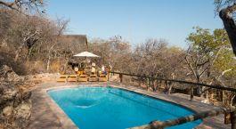 Pool at Ongava Lodge in Etosha (Anderson Gate), Namibia
