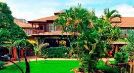 Enchanting Travels - Afrika Resien -Nairobi - Fairview Hotel - Außenansicht