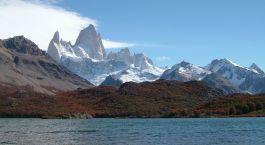 Außenansicht im Refugio Lago Condor, El Chaltén, Argentinien