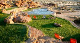 Pool at Fish River Lodge in Fish River Canyon, Namibia