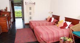 Enchanting Travels Nepal Tours Pokhara Hotels Shangri la Village room