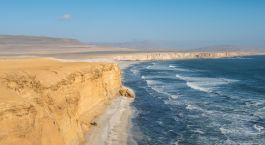 Raue Schönheit: Die schroffe Küste im Paracas Nationalpark
