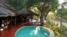 Pool at Imbali Safari Lodge in Kruger, South Africa