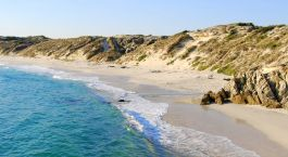 Beach at Overberg, South Africa