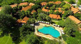 Bird's eye view of Legend Chiang Rai Hotel in Chiang Rai, Thailand