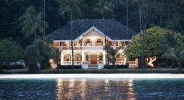 Exterior view of Cape Panwa Hotel, Phuket, Thailand