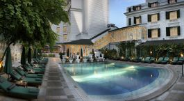 Pool at Sofitel Legend Metropole Hanoi Hotel in Hanoi, Vietnam