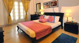 Double room at Colonels Retreat in Delhi, North India