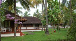 Enchantin Travels - Südindien Reisen - Kumarakom - Coconut Lagoon - Terasse