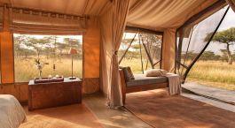 Zelt im Naboisho Camp, Masai Mara, Kenia