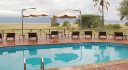 Poolt at Maramboi Tented Camp, Tarangire, Tanzania