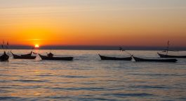Myanmar_Sunset_At_River Enchanting Travels Myanmar Tours Sittwe