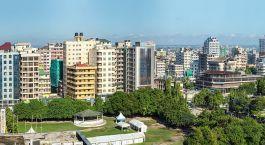 Skyline von Dar es Salaam