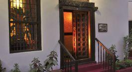 Exterior view of Zanzibar Palace Hotel in Zanzibar, Tanzania