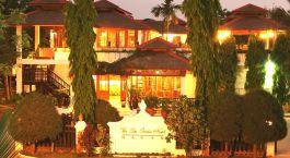Enchanting Travels - Asien Reisen - Myanmar - Bagan - Thazin Garden - Außenansicht bei Nacht