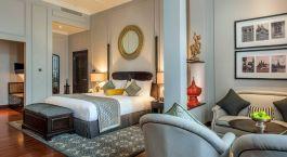 Bedroom at The Strand Hotel in Myanmar, Yangon
