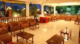 Enchanting Travels - Südindien Reisen -Thanjavur -  Ideal River View Resort - Lounge