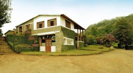 Exterior of Windermere Estate in Munnar, South India