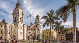 Altstadt von Lima, Hauptstadt von Peru