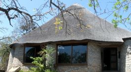 Exterior of the Lodge at the Ancient City in Great Zimbabwe, Zimbabwe, Africa