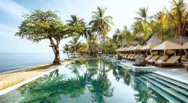 Pool im Hotel Qunci Villas, Lombok, Indonesien