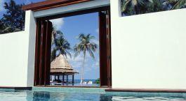 Pool at hotel Sala Samui Resort & Spa in Koh Samui, Thailand
