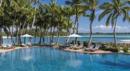 Pool at Shangri-La's Le Touessrok Resort & Spa Hotel in Mauritius, Africa