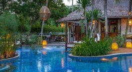 Pool im Hotel Villa Samadhi, Kuala Lumpur, Malaysia