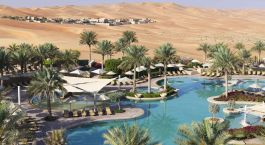 Enchanting Travels UAE Tours Abu Dhabi Hotels Qasr Al Sarab Desert Resort by Anantara Free_Form_Pool