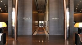 Enchanting Travels UAE Tours Dubai Hotels Armani Hotel Dubai entrance