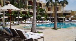 Enchanting Travels - Colombia Tours - Cartagena - Santa Clara Sofitel - Pool