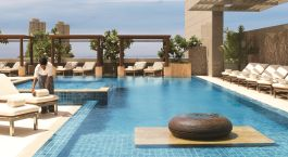 Pool im Four Seasons Mumbai Hotel in Mumbai, Zentral- & Westindien