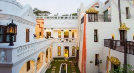 Enchanting Travels Nepal Tours Kathmandu Hotels Baber Mahal Vilas roof