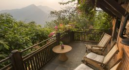 Enchanting Travels Nepal Tours Nuwakot Hotels The Famous Farm Balcony