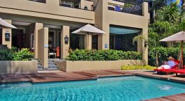 Pool at The Residence Boutique Hotel in Johannesburg, South Africa